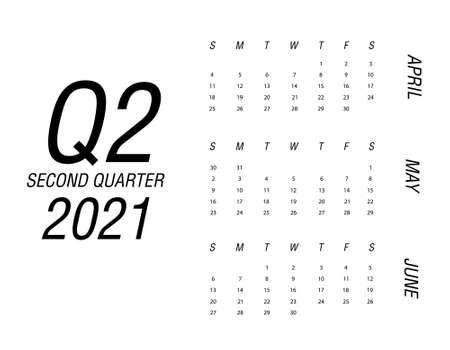 Second quarter of calendar 2021