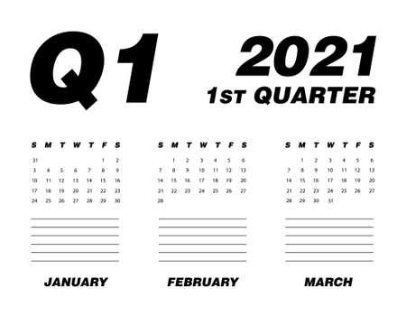 First quarter of calendar 2021