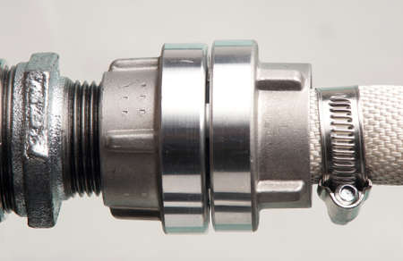 coupling: Waterhose coupling Stock Photo