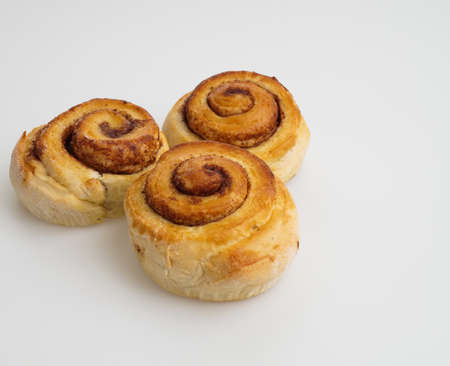treat: tasty cinnamon buns ready for a treat