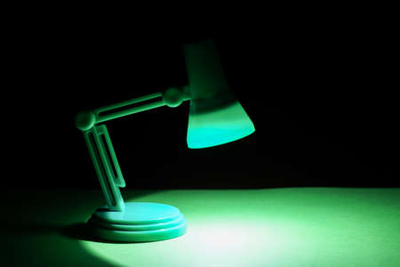 product placement: Isolated Desk lamp with copyspace or room for product placement