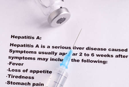 genotype: Vaccination against Hepatitis,  symptoms and side effects