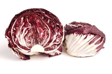 radicchio: Fresh organic Radicchio Lettuce, ready for eating and cooking Stock Photo