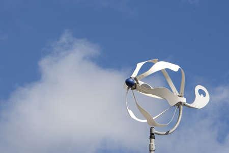 small windturbine Stock Photo