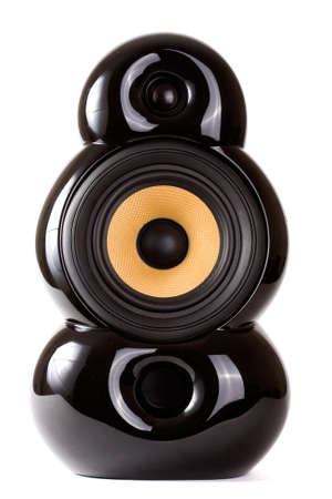 isolated design speaker Stock Photo