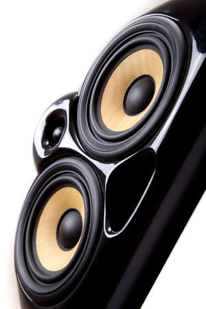 close up of speaker Stock Photo - 8540350