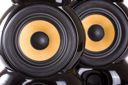 pair of speakers Stock Photo - 8540323