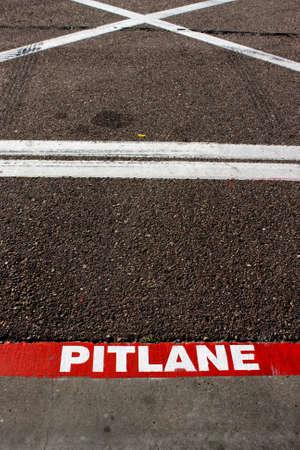 Abstract pitlane Stock Photo - 8540546