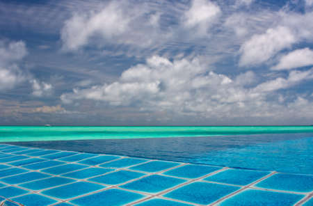 Pool in the tropics Stock Photo - 8540248