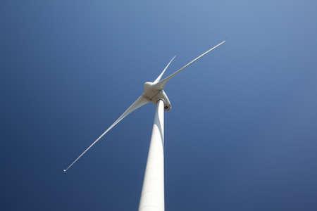Windmill against blue sky Stock Photo - 8540384