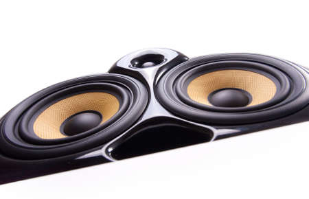 Close up of speaker Stock Photo - 8539523