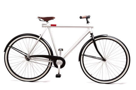 design bike isolated on white