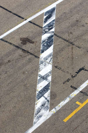 Tire Marks on track  photo