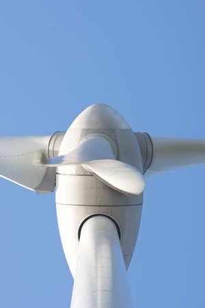 Close up van Windturbine