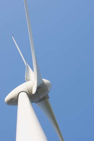 Close up van Wind turbine Stock Photo