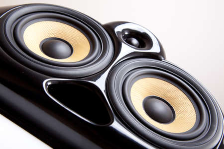 Close up of speaker Stock Photo - 12439433