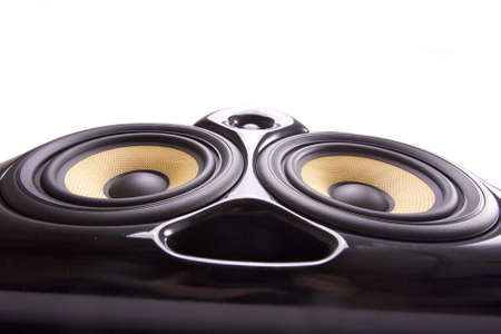 Close up of a speaker Stock Photo - 12438026