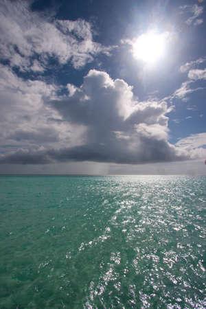 l'eau claire sous les tropiques