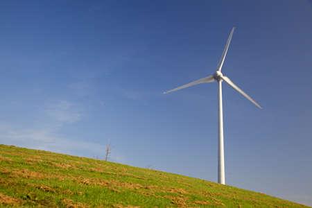 Windturbine aux Pays-Bas Banque d'images