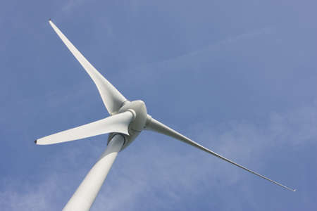 Close up van Windturbine Stock Photo - 12437669