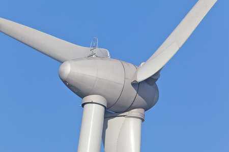 Close up van Windturbine
