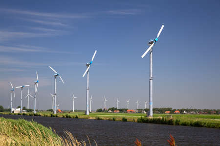 Parc �olien aux Pays-Bas