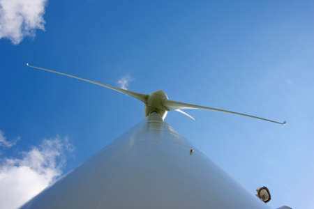 Abstract view of windturbine Stock Photo - 12437993