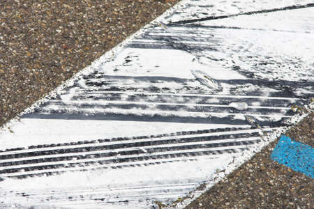 Tire Marks on track