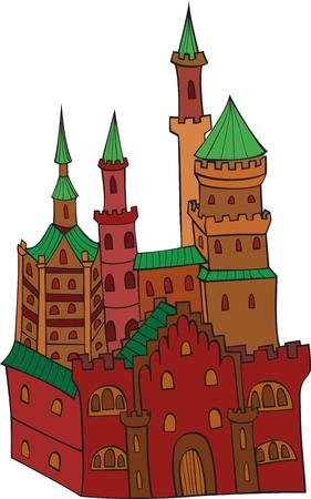 Strong castle Stock Vector - 7822759