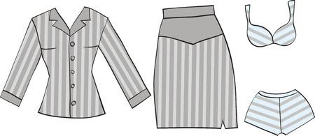 ensemble de vêtements de bureau