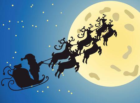 Christmas night Stock Vector - 8089964