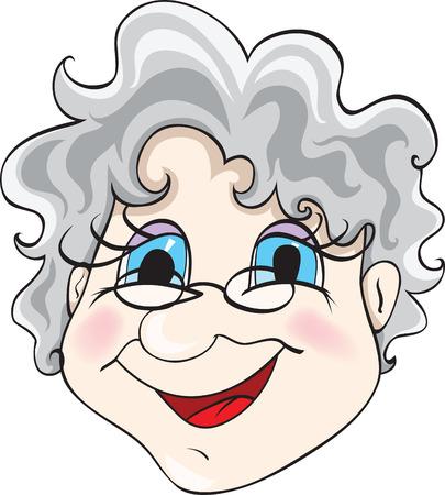 grandmother Illustration