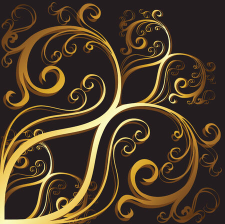 gold background Stock Vector - 8265038