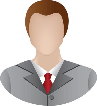 icono de hombre de negocios Vectores