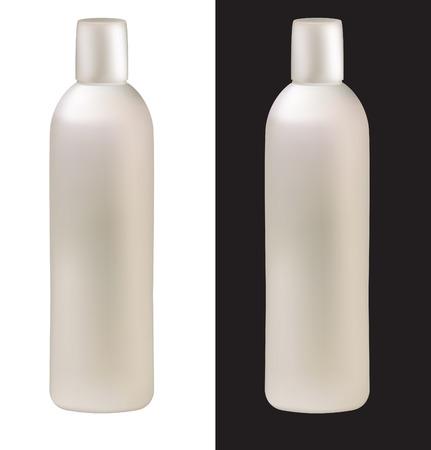 bottle of shampoo Stock Vector - 8265074