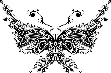 farfalla nera: farfalla nera