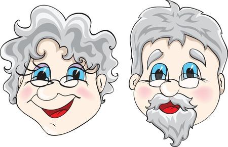 abuela: abuelos