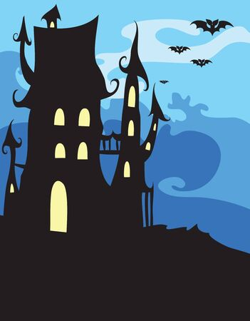 afterglow:  halloween background