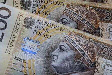 poland: Polish money, Poland Stock Photo
