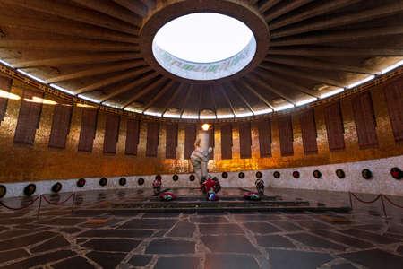 volgograd: Eternal flame of Mamayev Kurgal Memorial complex, Volgograd (former Stalingrad)
