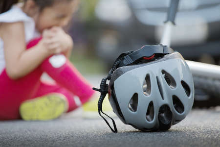 Even a small accident, safety helmet can helps
