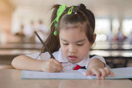 education and school concept homework is too much for little kids