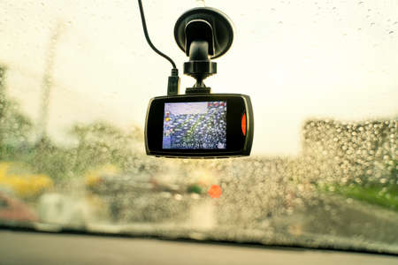 Car DVR Front camera car recorder 版權商用圖片