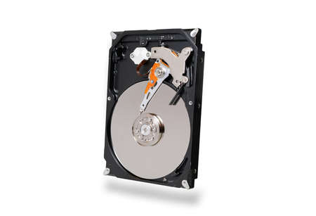 hard disk , HDD , drive with sata 6 gb isolated on white background Imagens