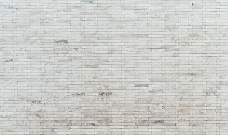 White marble texture and background for design pattern artwork , white brick wall 免版税图像 - 125018236