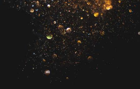 glitter vintage lights background. defocused 版權商用圖片