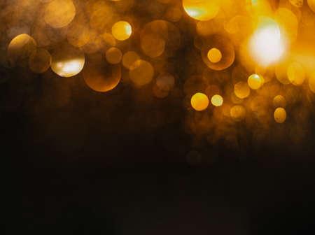 glitter vintage lights background. defocused Imagens