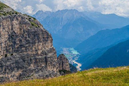 Tre Cime di Lavaredo (aka Drei Zinnen) Naturpark (Nature Park), in the Sexten Dolomites, Belluno province, Veneto region, Italy.