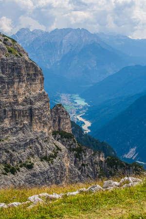 Tre Cime di Lavaredo Naturpark (Nature Park), in the Sexten Dolomites, Belluno province, Veneto region, Italy. Stock fotó