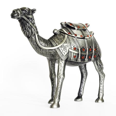 dromedary: Figurine of dromedary camel - a souvenir from Turkey. Stock Photo